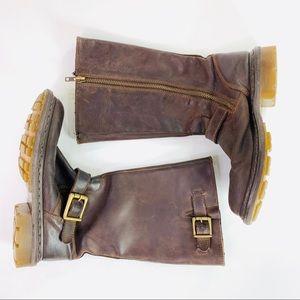Dr Martens Slip on Boots Robin Dark Brown 14794201